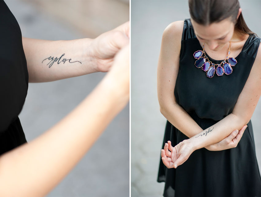 Explore Calligraphy Tattoo by Neither Snow