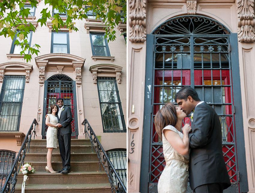 Genna & JP • Fort Greene Park Wedding Elopement • Brooklyn, New York