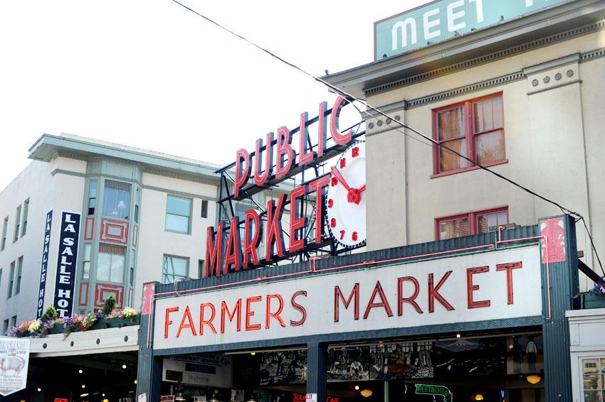 Seattle, Washington | Mikkel Paige Photography | Pike Place Market