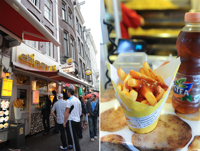 Mikkel Paige Photography   Travel   Europe   Amsterdam, Netherlands   Chipsy King French Fries
