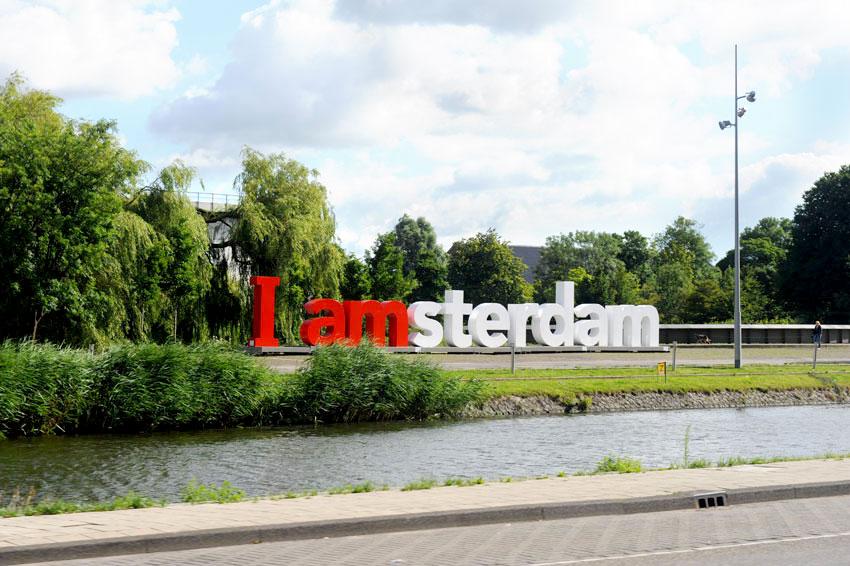 Mikkel Paige Photography   Travel   Europe   Amsterdam, Netherlands   I Amsterdam Sign