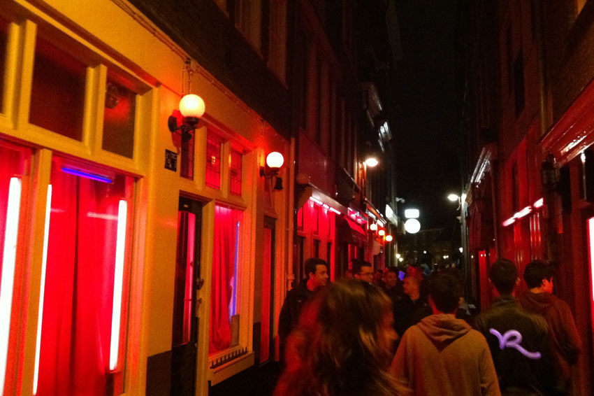 Mikkel Paige Photography   Travel   Europe   Amsterdam, Netherlands   Red Light District