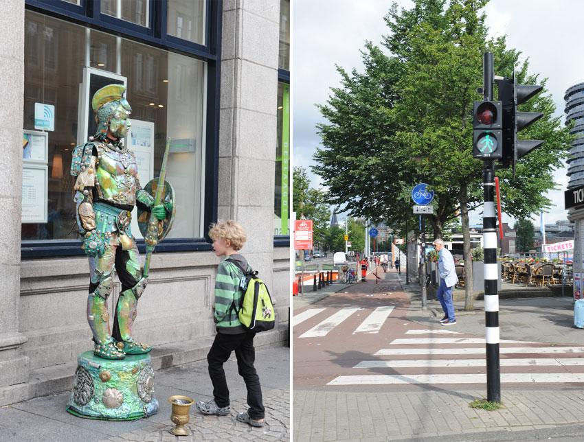 Mikkel Paige Photography   Travel   Europe   Amsterdam, Netherlands   Street Performer