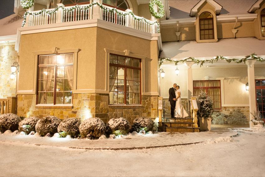 Winter Wonderland Wedding Mikkel Paige Photography New York And Destination Photographer Inn