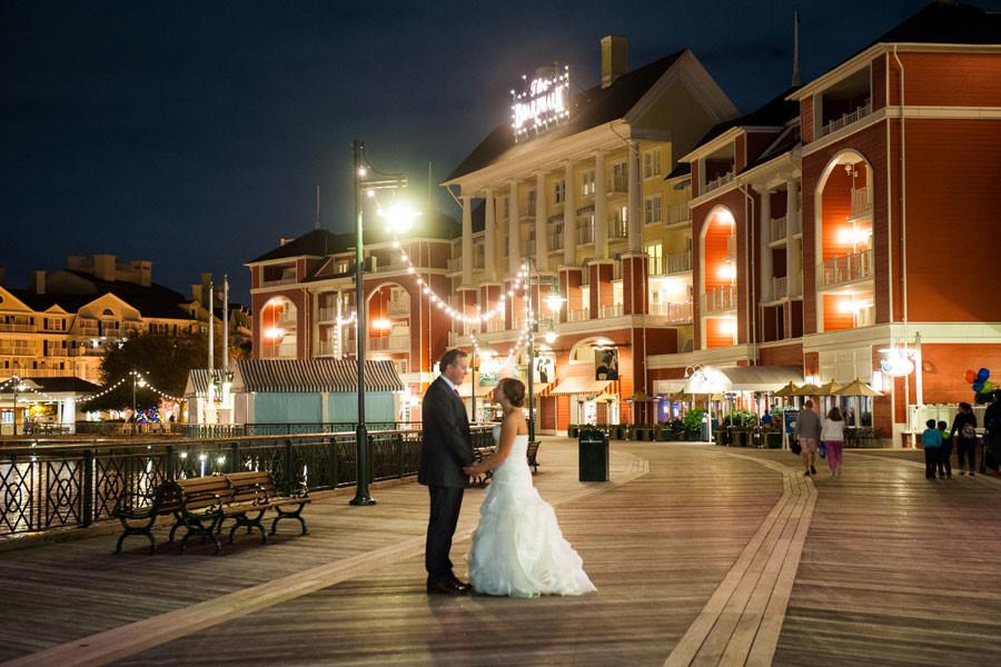 Walt Disney World Boardwalk Wedding Destination Photographer