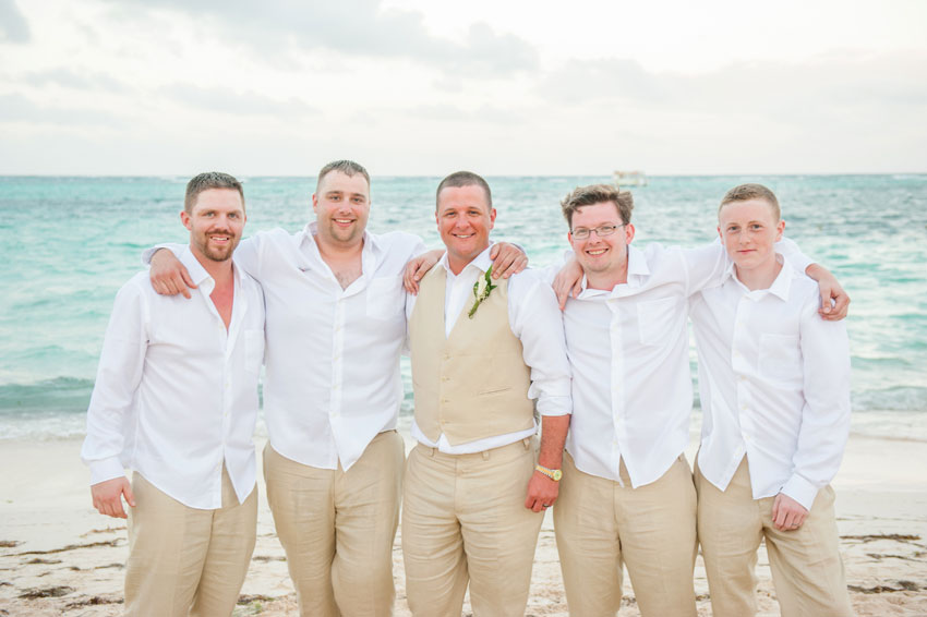 Punta Cana Destination Wedding Photographer • Caribbean Beach Front ...
