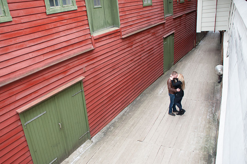 Engagement session in Bergen, Norway. Photos by Destination Wedding Photographer, Mikkel Paige Photography.