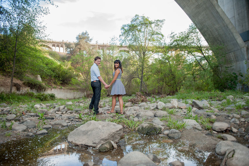 anniversary love in arroyo seco park california raleigh