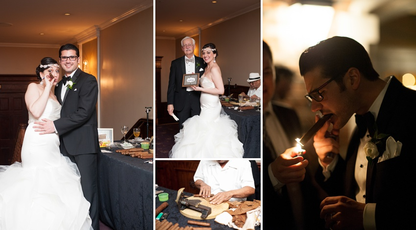 Cigar roller nyc wedding