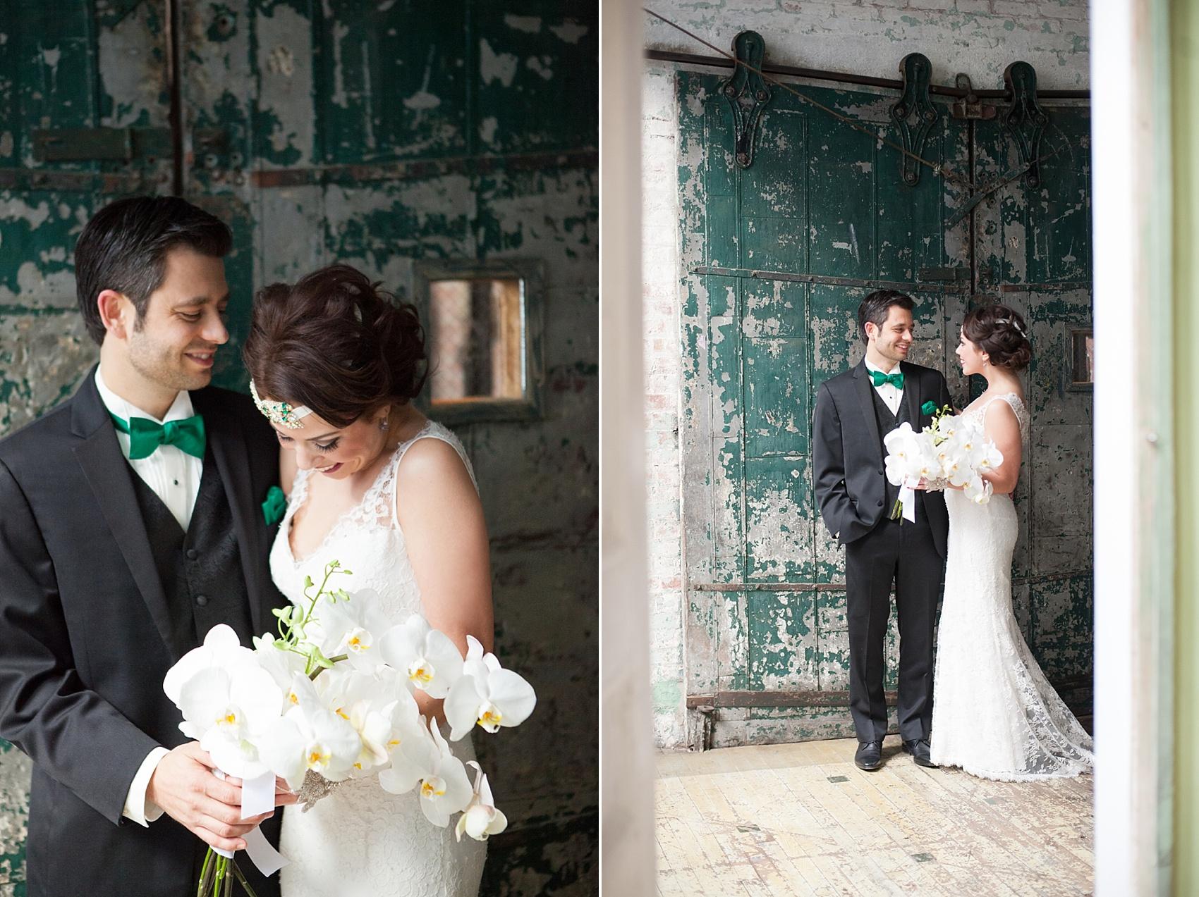 Metropolitan Building vintage 1920's wedding. Images by Mikkel Paige Photography.