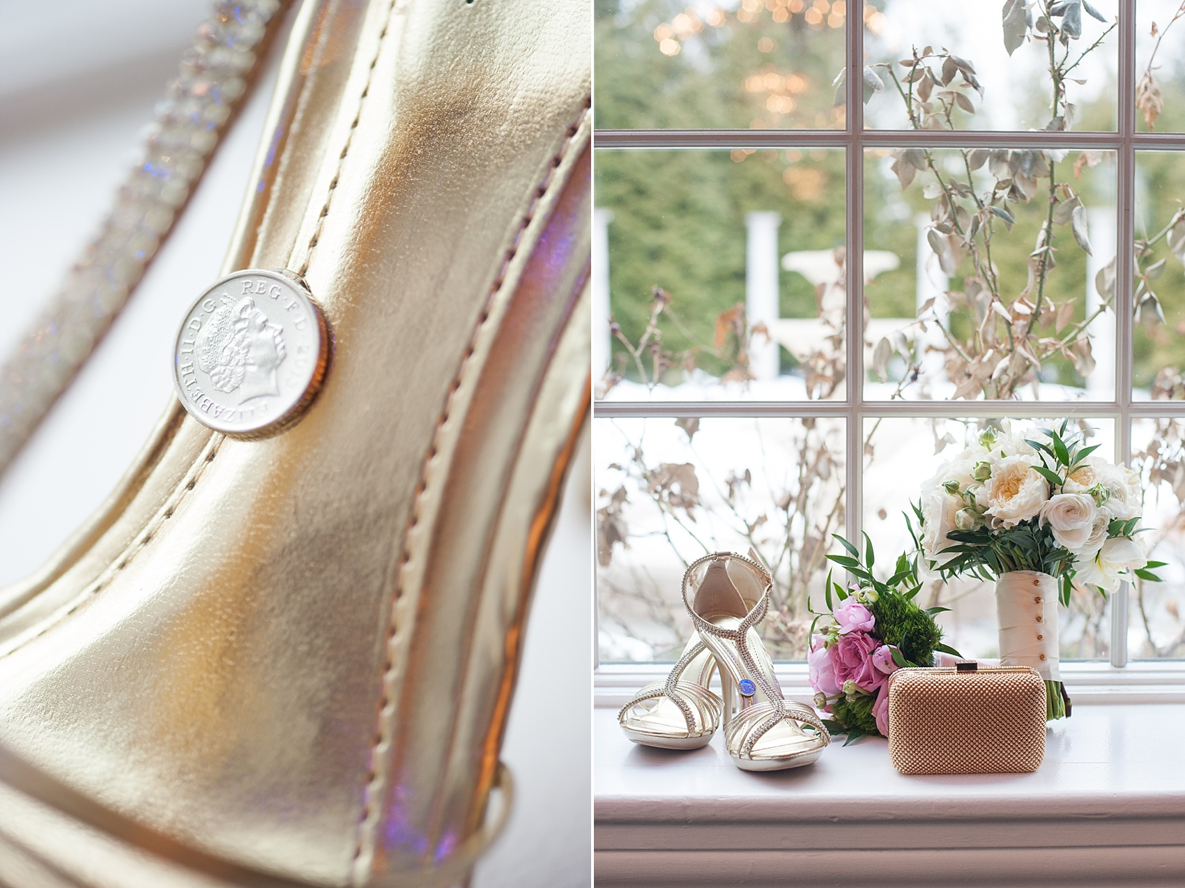 Sixpence For Your Shoe Wedding Tradition To Love As Posted On Mikkel Paige Photography S