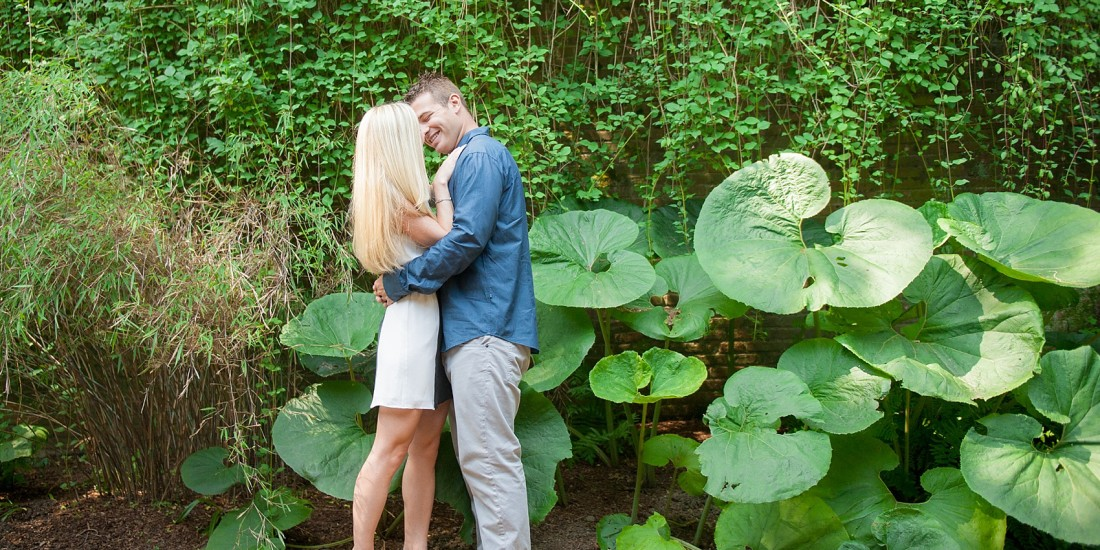 Conservatory Garden Was The Perfect Place To Photograph Whitney And Ryanu0027s  Summer Engagement Session. They Knew They Wanted To Capture This Time In  Their ...