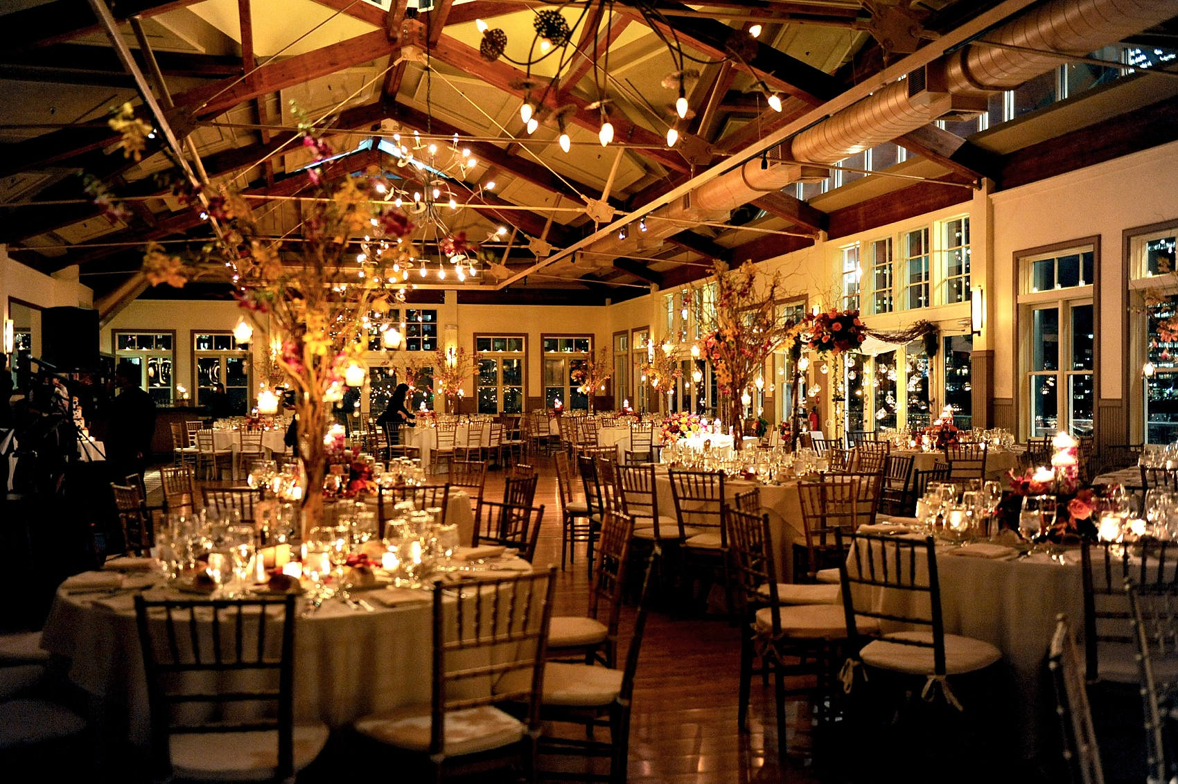 Photos Beautiful Night Time Reception Room Set Up, Complete With Candles,  Orchids And Branches At ...