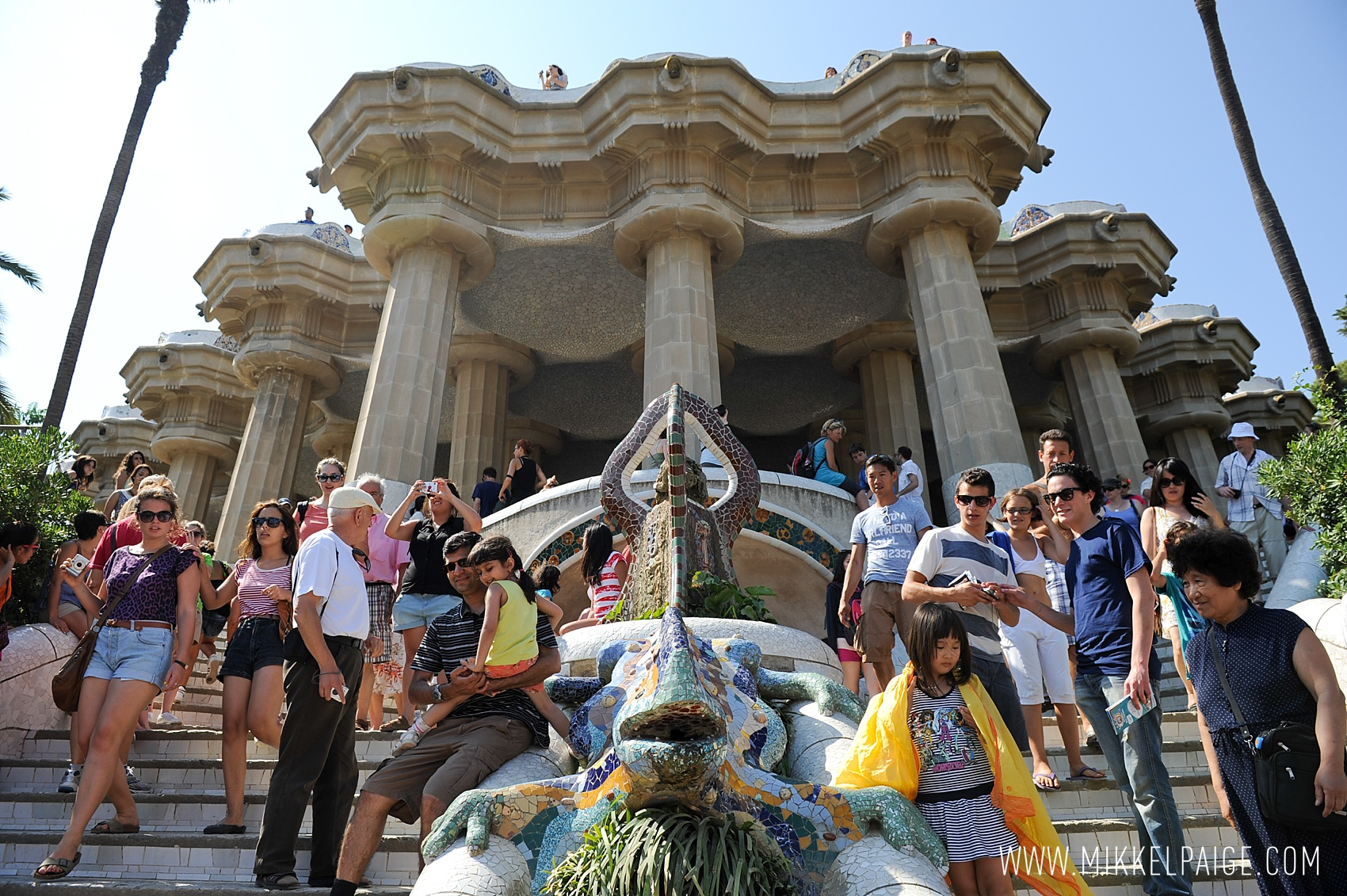 Parc Guell in Barcelona, Spain. Photo by Mikkel Paige Photography. Great for wunderlust!