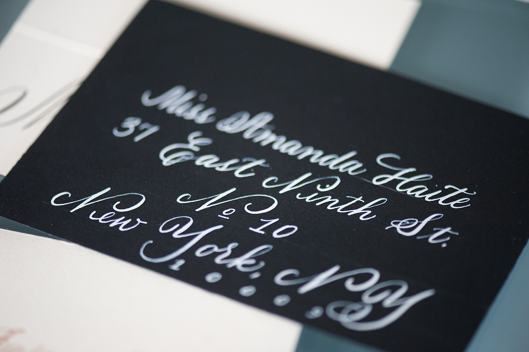 Hand calligraphy photos + advice from popular calligrapher. Images by Mikkel Paige Photography.