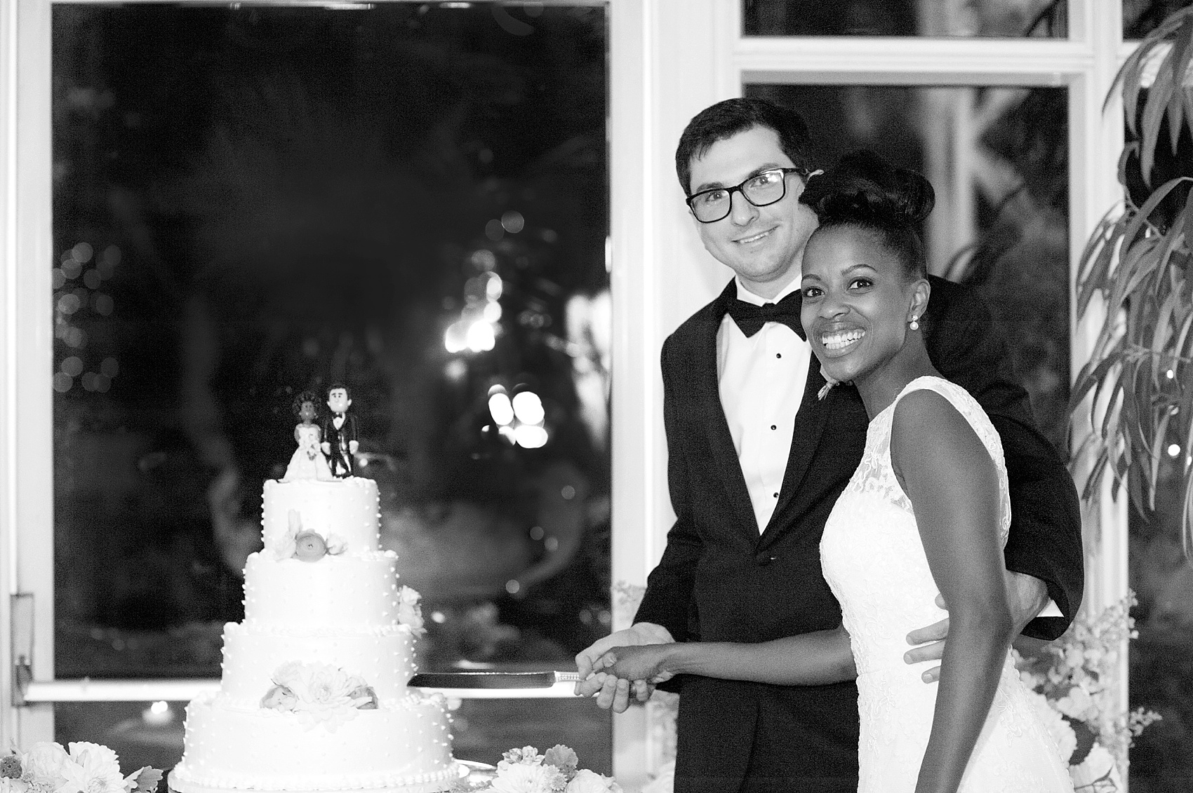 Wedding reception at the Conservatory at The Madison Hotel, New Jersey. Photos by Mikkel Paige Photography.