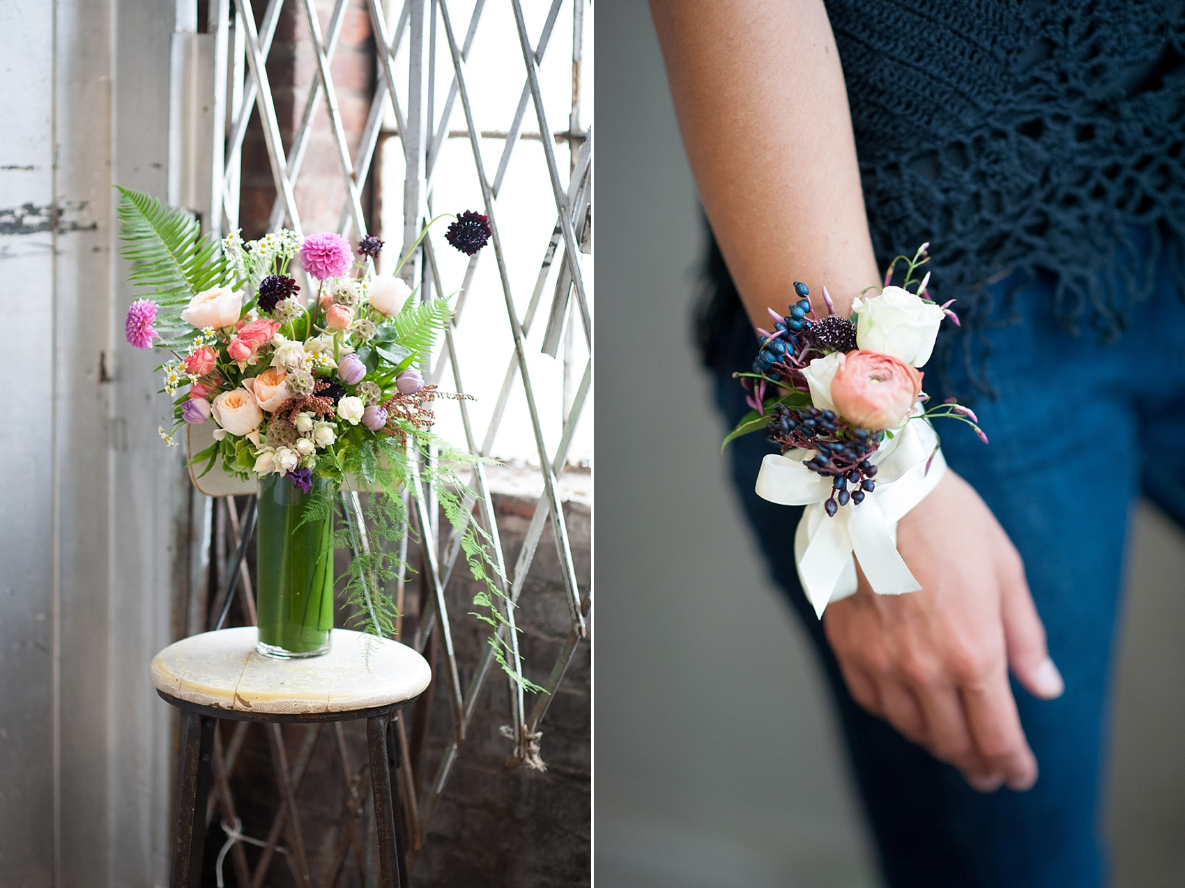 Bright Summery Wildflower Bouquet By Sachi Rose Design Florist Photos Mikkel Paige Photography