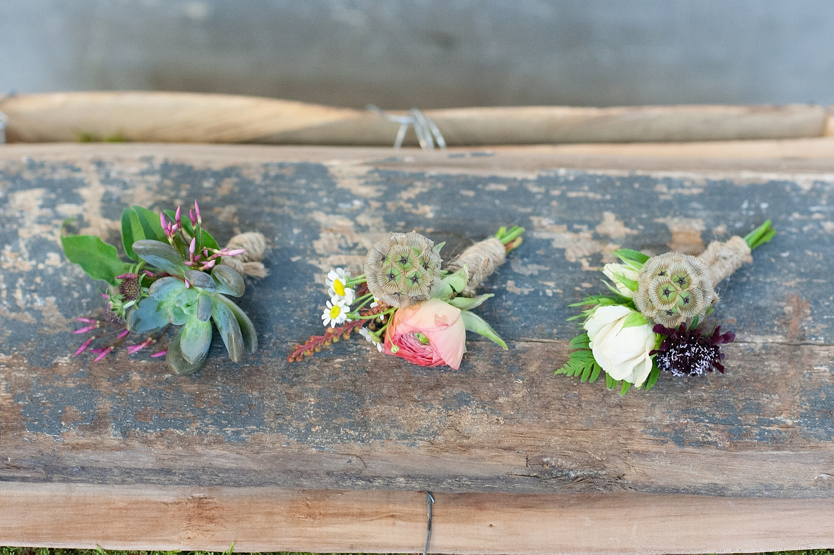 Bright summery wildflower bouquet by Sachi Rose Design florist. Photos by Mikkel Paige Photography.