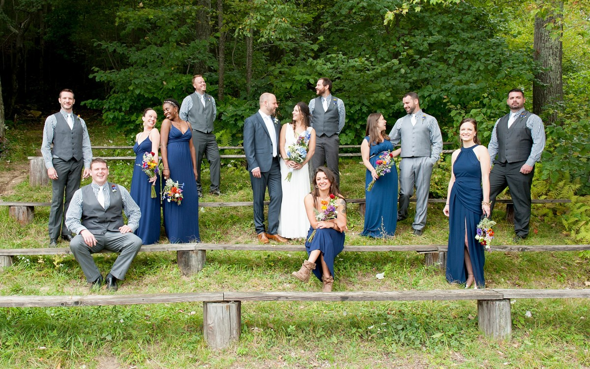 Camp Wedding Photos • Berkshires Wa Wa Segowea Sneak Peek • Carly + Devin