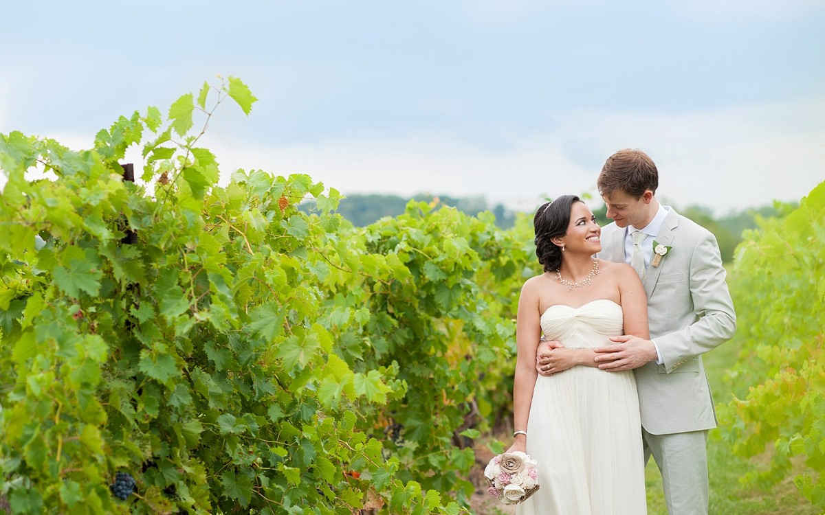 Hopewell Valley Vineyards Wedding Photos • Cesalie + Sam Sneak Peek