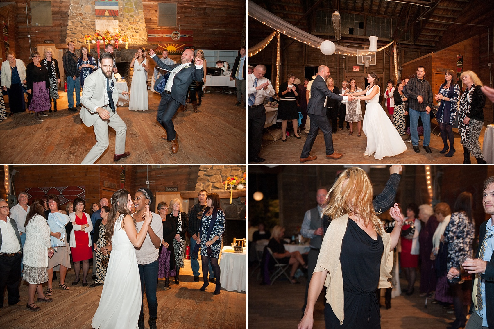 Rustic Berkshires camp wedding. Photos by Massachusetts wedding photographer, Mikkel Paige Photography.