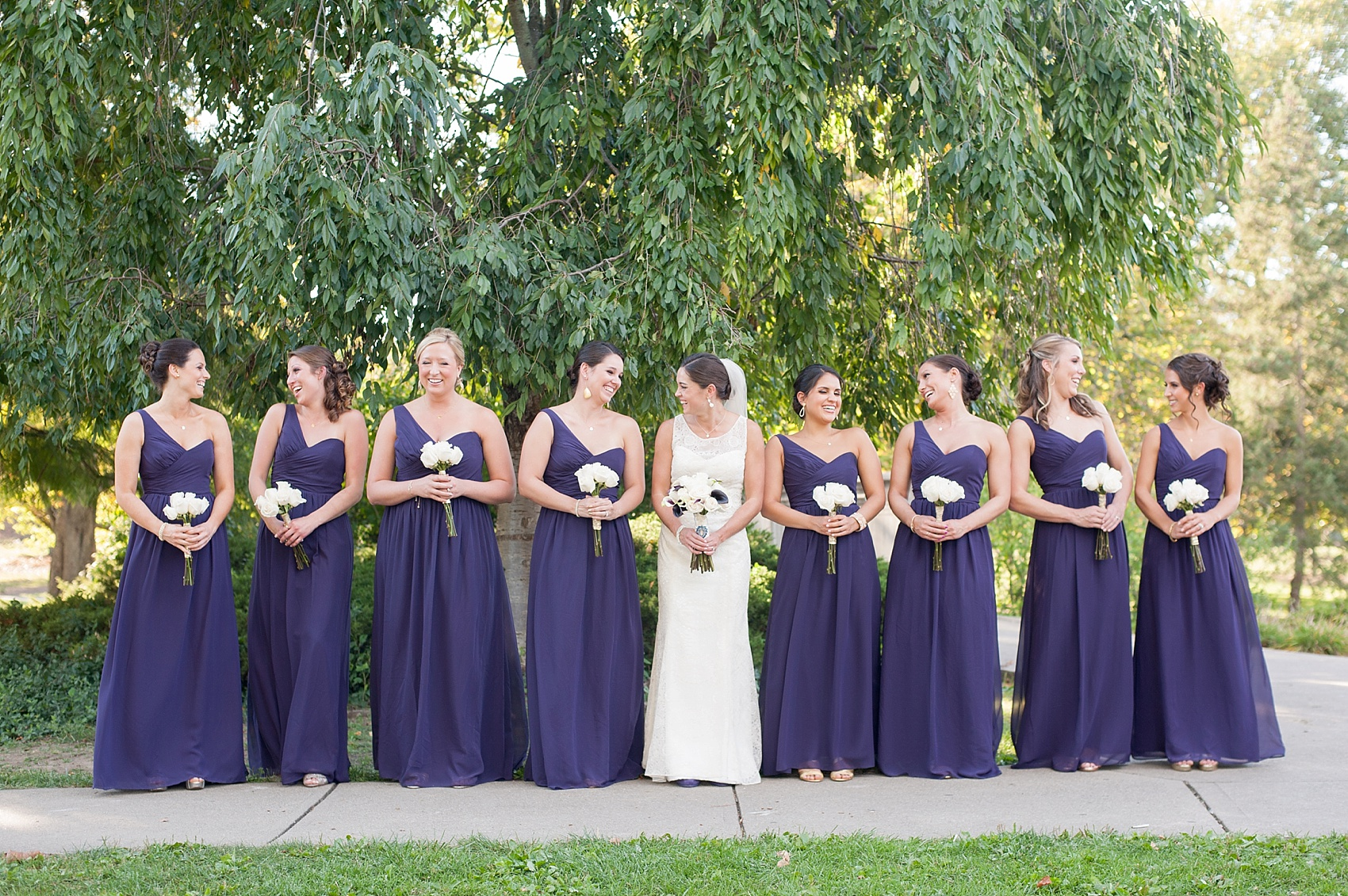Downtown Cincinnati Wedding Photos • The Center • Shandyn + Luis ...