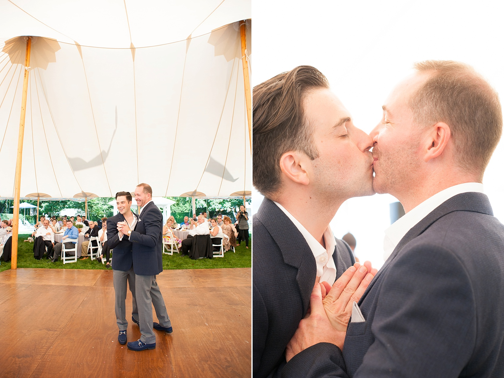Outdoor Wedding Photos In The Hamptons Private Residence