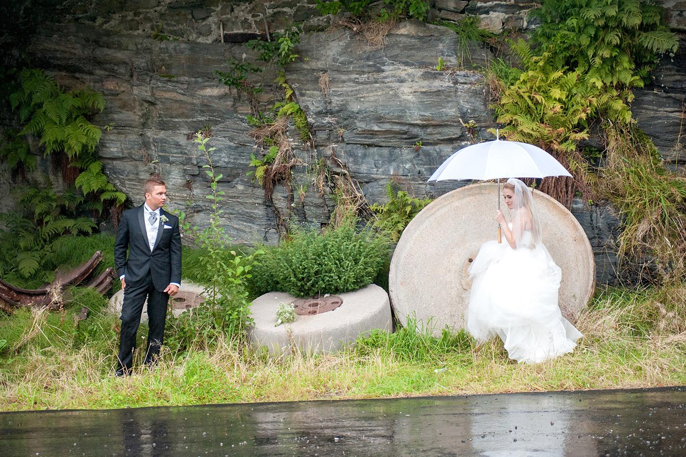 Bergen, Norway wedding photos by destination wedding photographer, Mikkel Paige.