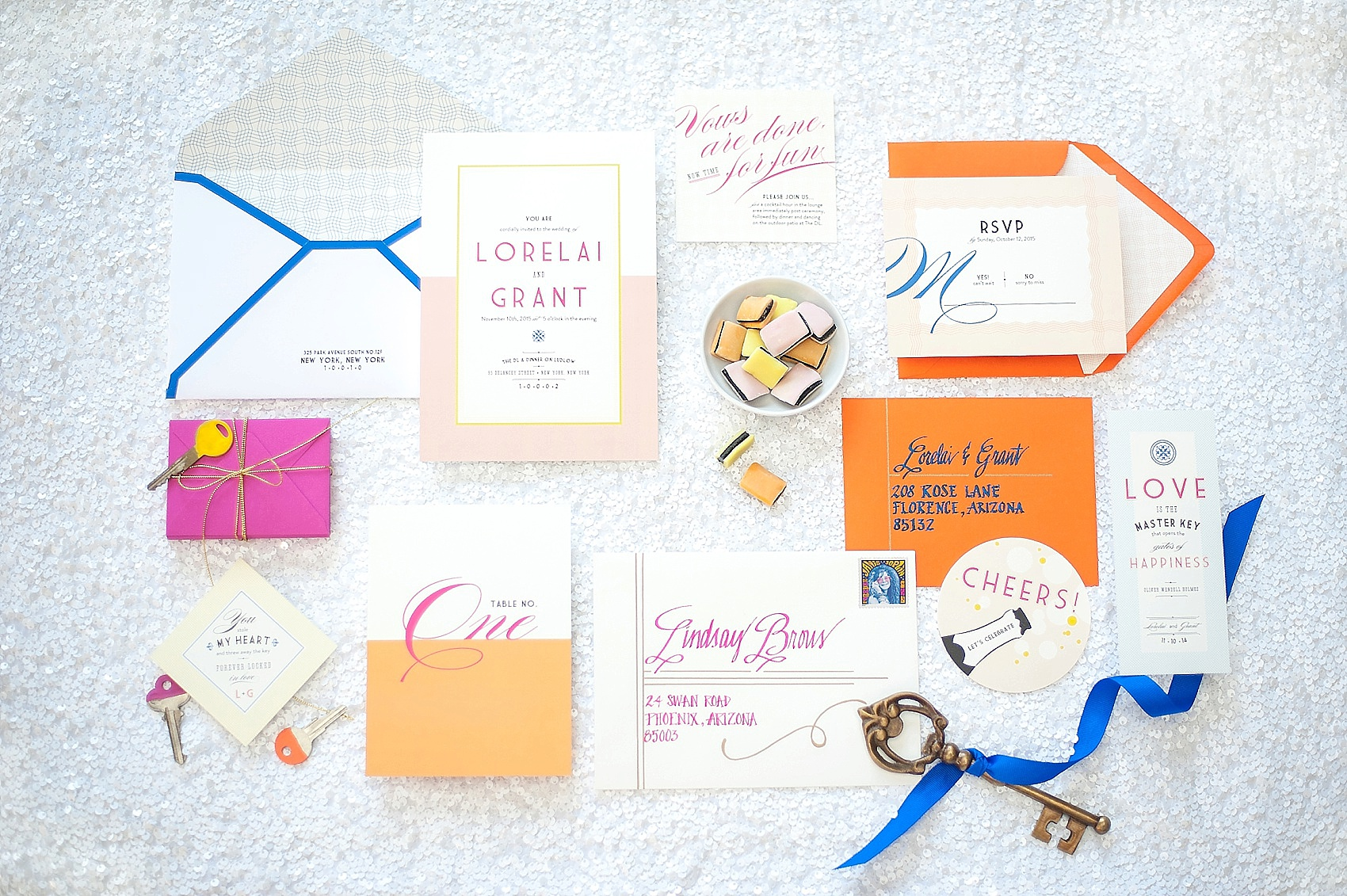Wedding Invitations + More • Photos of Stationery Paper Suites ...