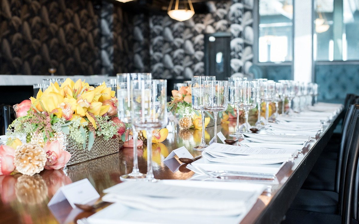 Brooklyn Wedding Caterers • Event at 501 Union with Color Pop Events