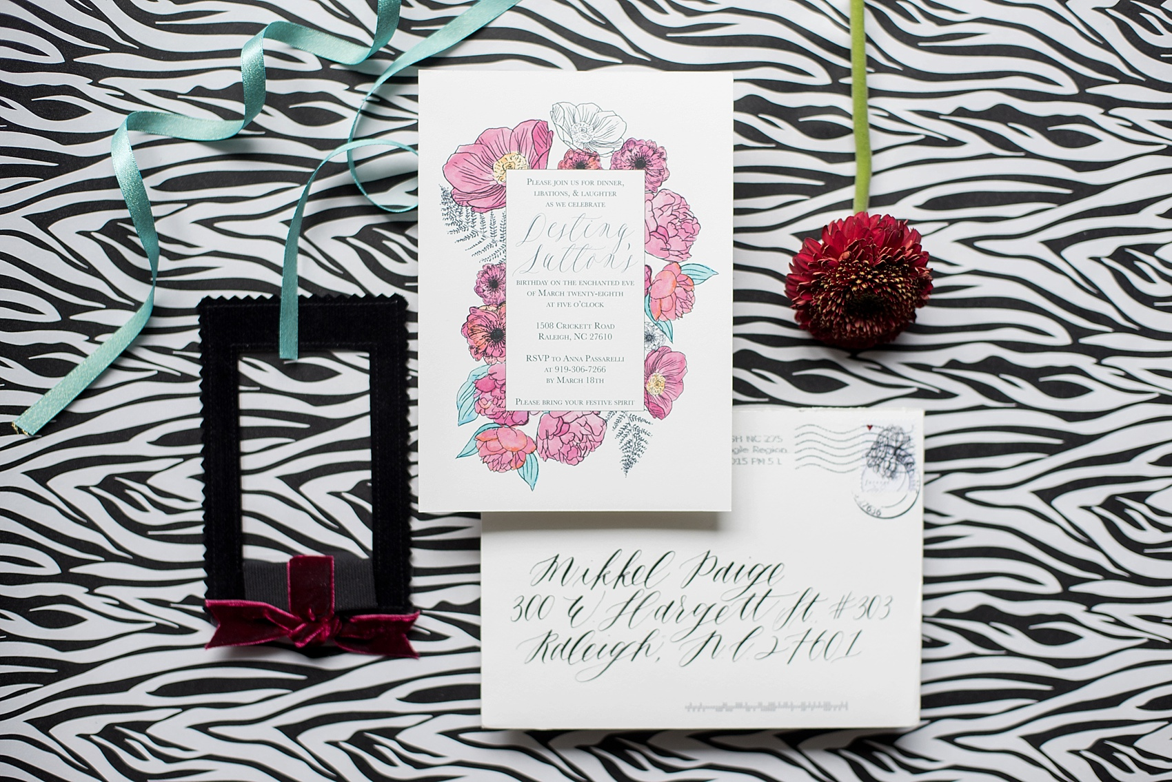 Raleigh Wedding Photographer • Birthday Invitation by One and Only ...