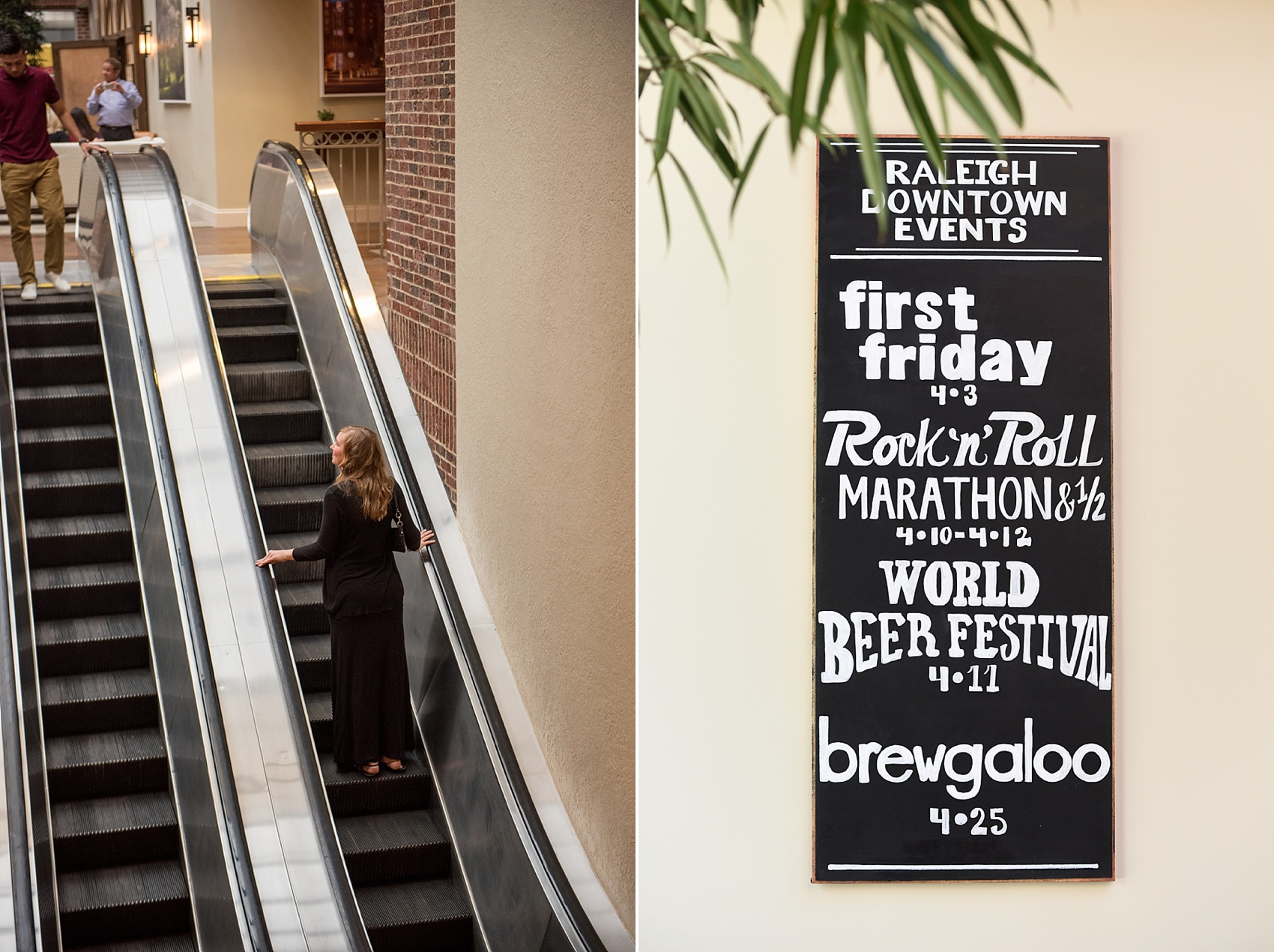 Raleigh wedding photographer, Mikkel Paige Photography, captures downtown #proposal at the Sheraton hotel during Brewgaloo.