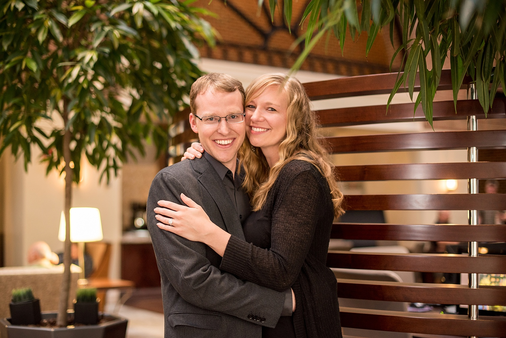 Raleigh wedding photographer, Mikkel Paige Photography, captures downtown #proposal.