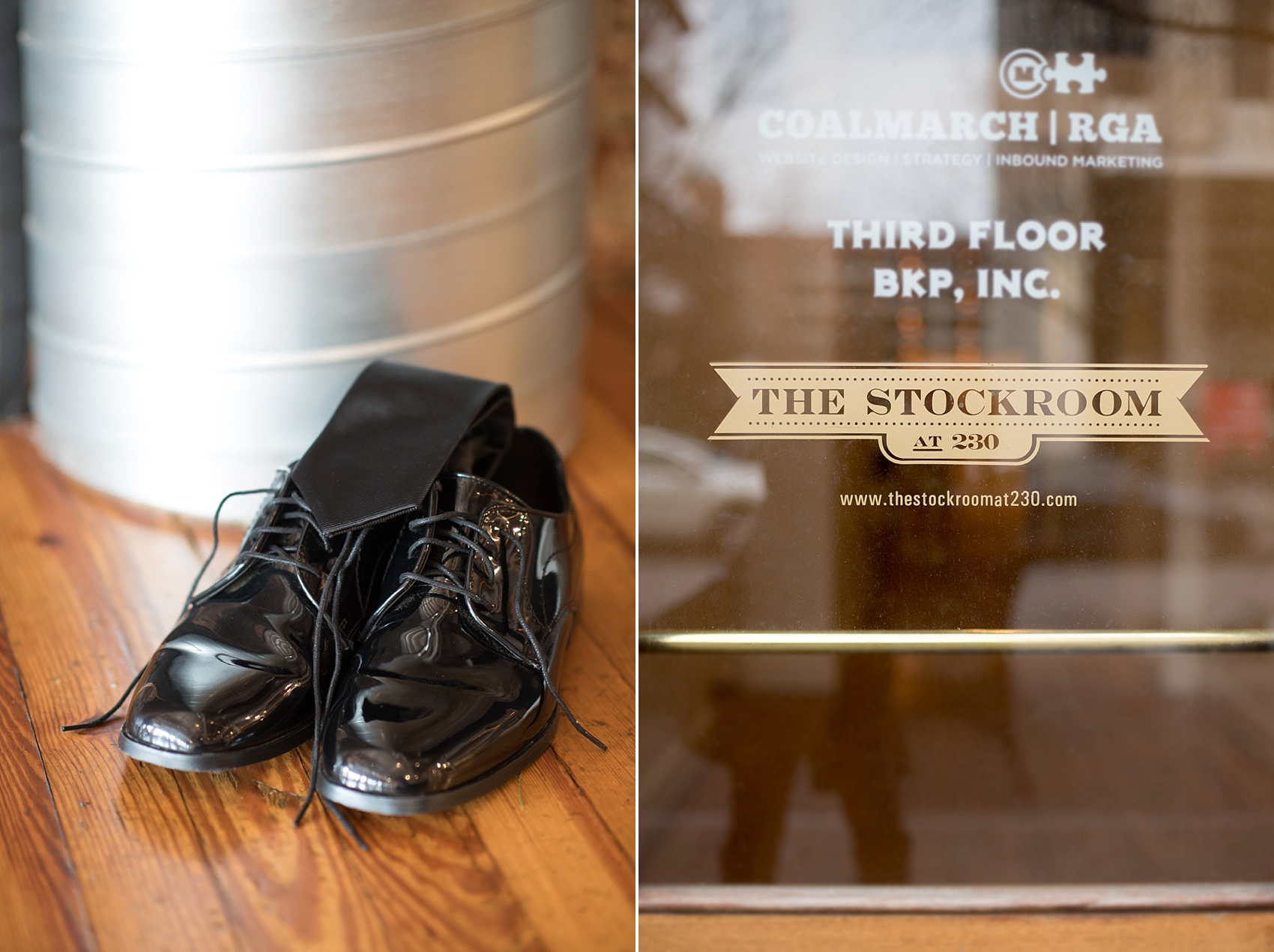 Raleigh wedding photographer Mikkel Paige Photography captures detail images at The Stockroom.