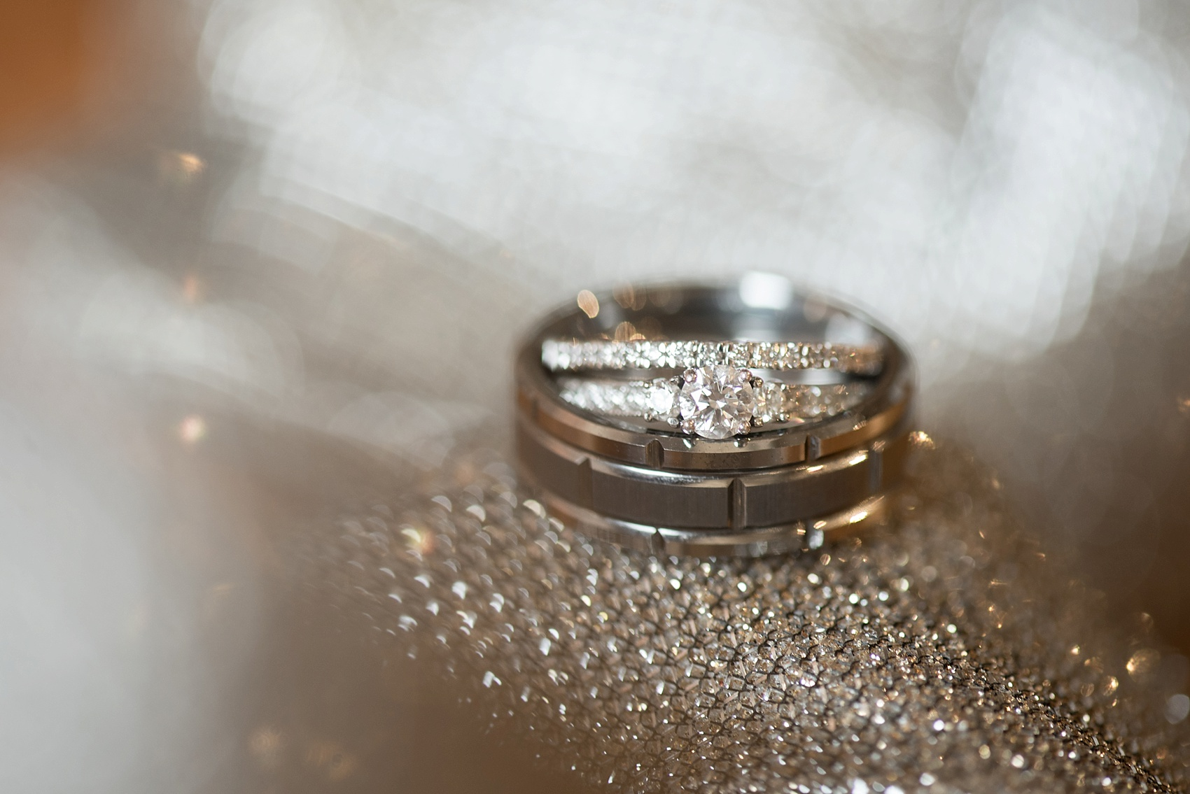 Raleigh wedding photographer Mikkel Paige Photography ring photos at The Stockroom.