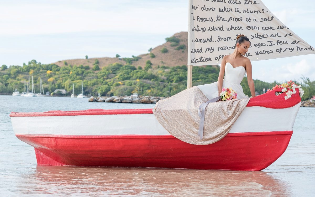 St. Lucia Wedding Photos • Destination Beach Elopement
