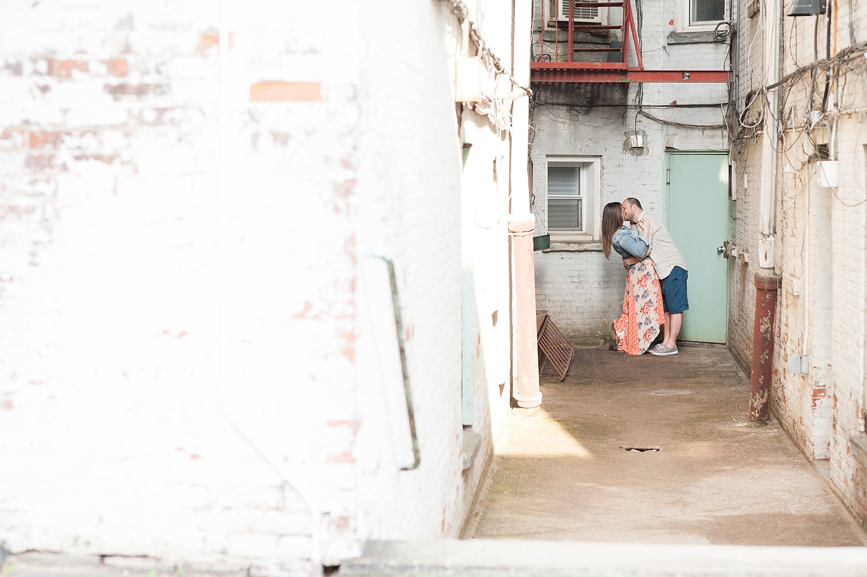 Hoboken engagement photos by Mikkel Paige Photography, NYC and NJ wedding photographer.