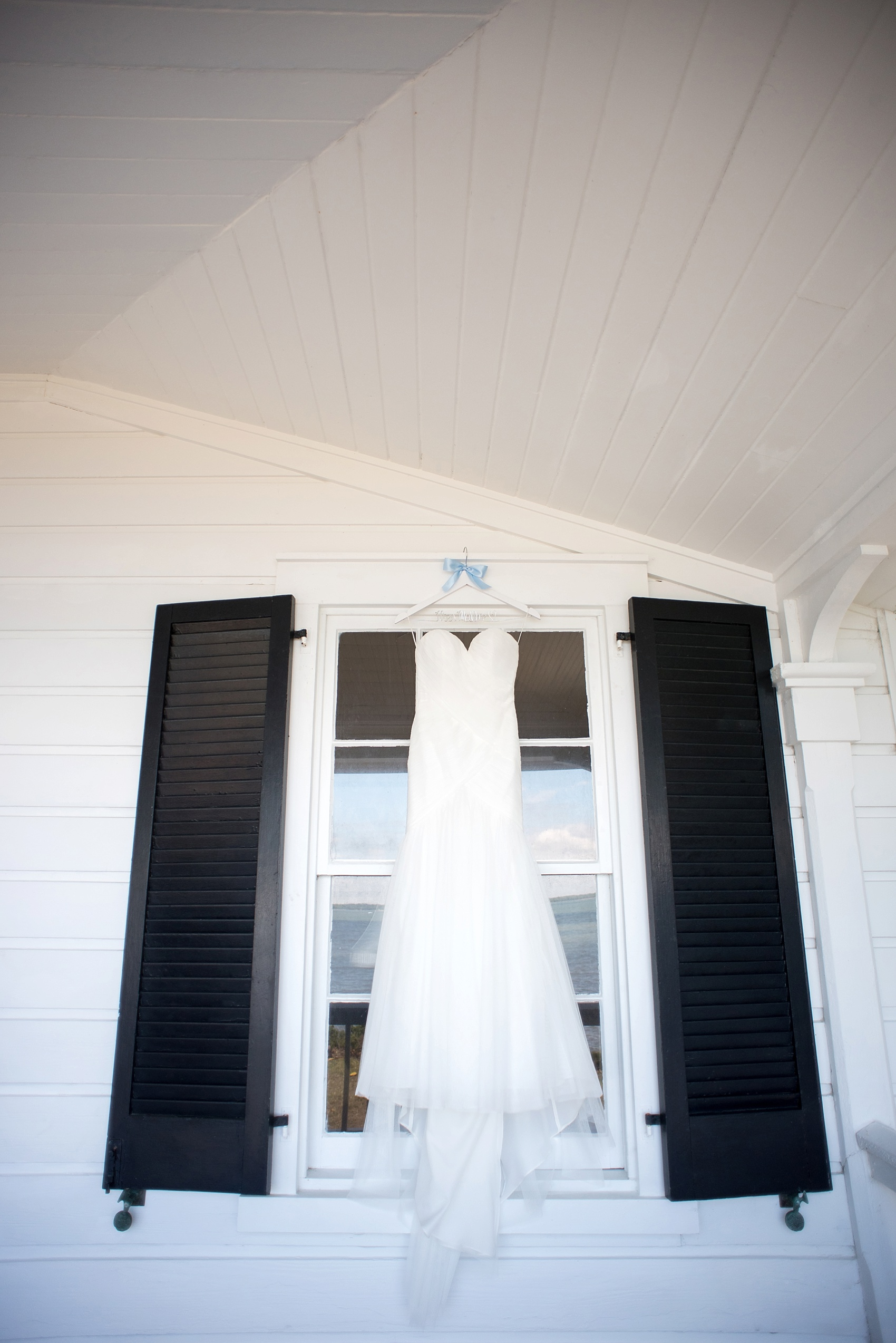 Southern porch WToo by Watters wedding gown photo by Mikkel Paige for a Hilton Head, Haig Point wedding.