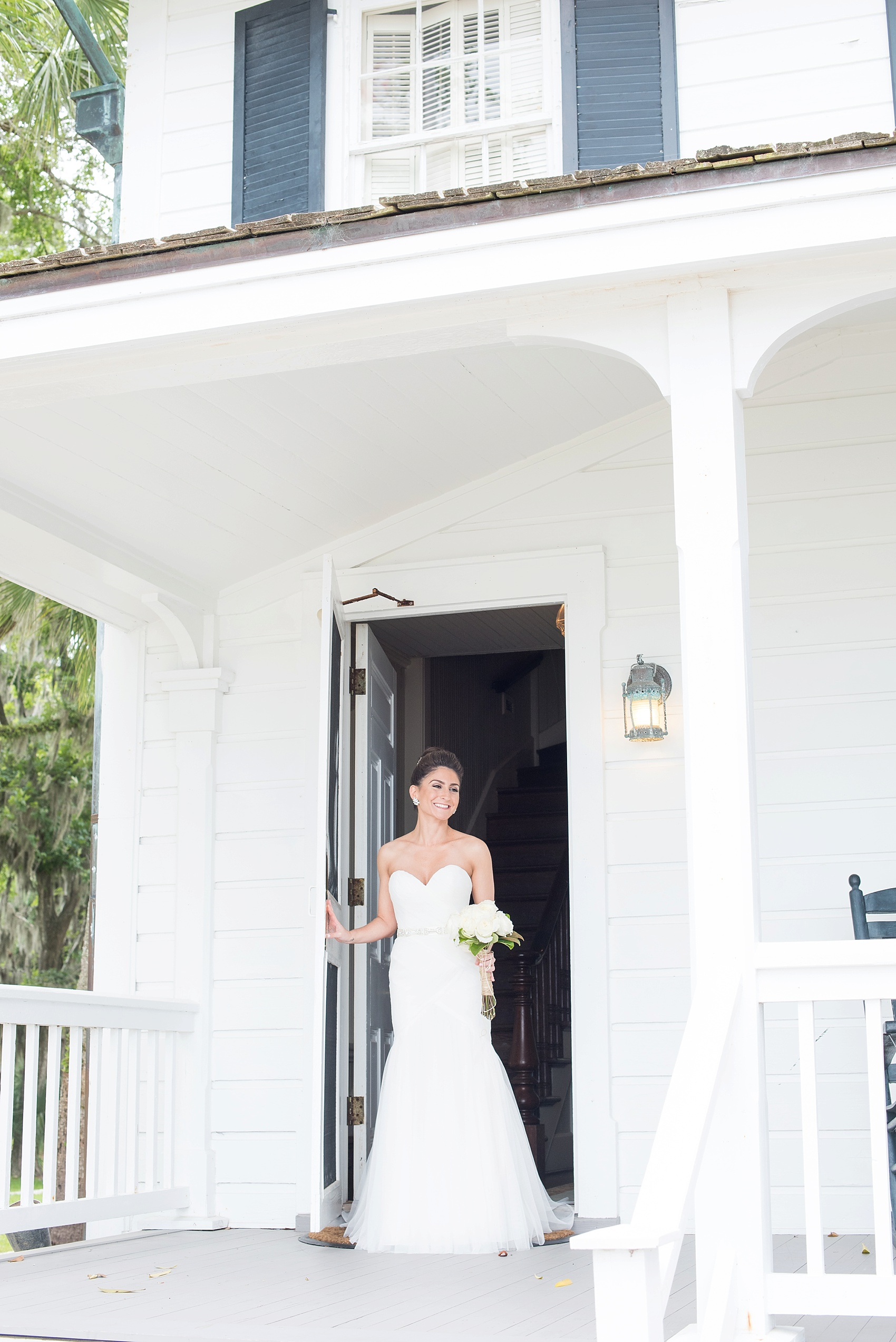 WToo by Watters wedding gown for this southern bride. Photos by Mikkel Paige in Hilton Head, Haig Point, South Carolina.