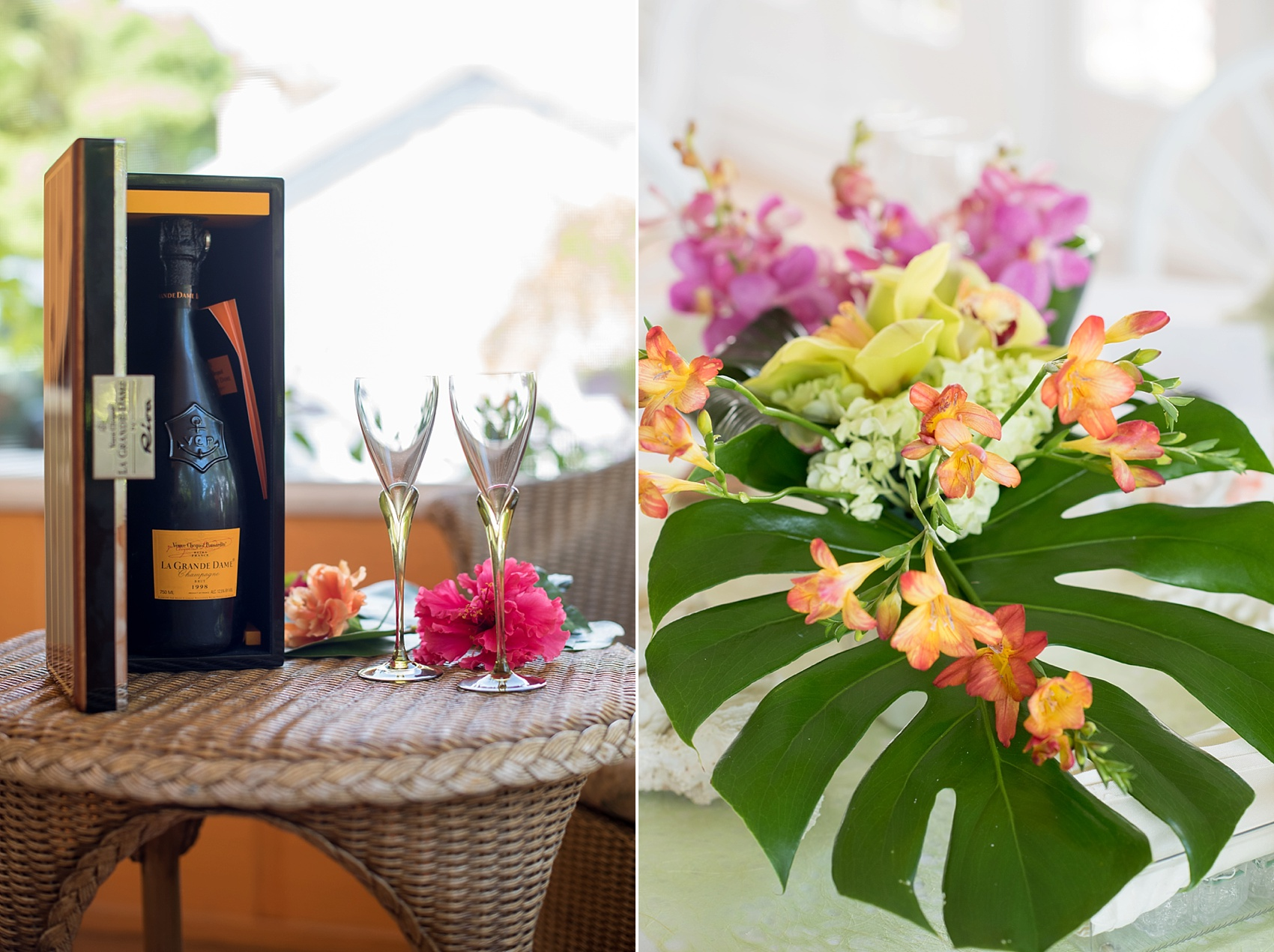 Captiva Island small wedding at Tween Waters Inn. Photos by Mikkel Paige Photography.