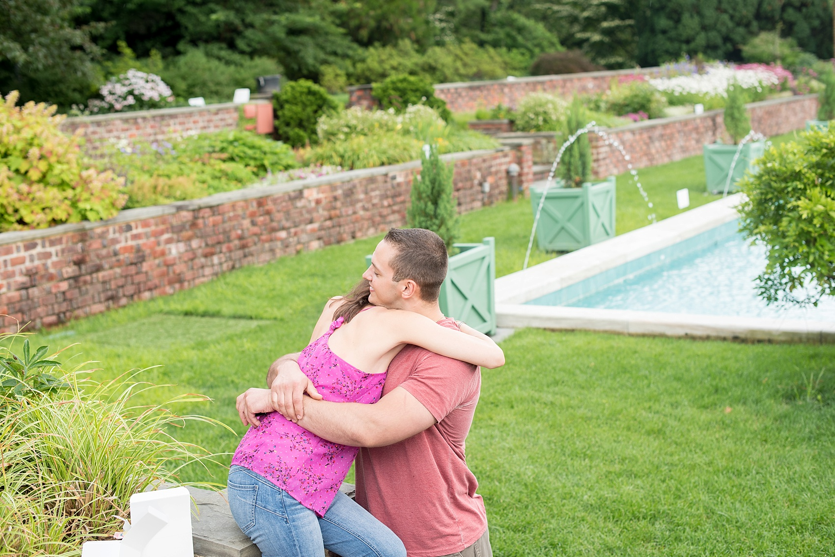 Long Island Proposal ideas at Oyster Bay Planting Fields. Photos by Mikkel Paige Photography, Long Island wedding photographer.