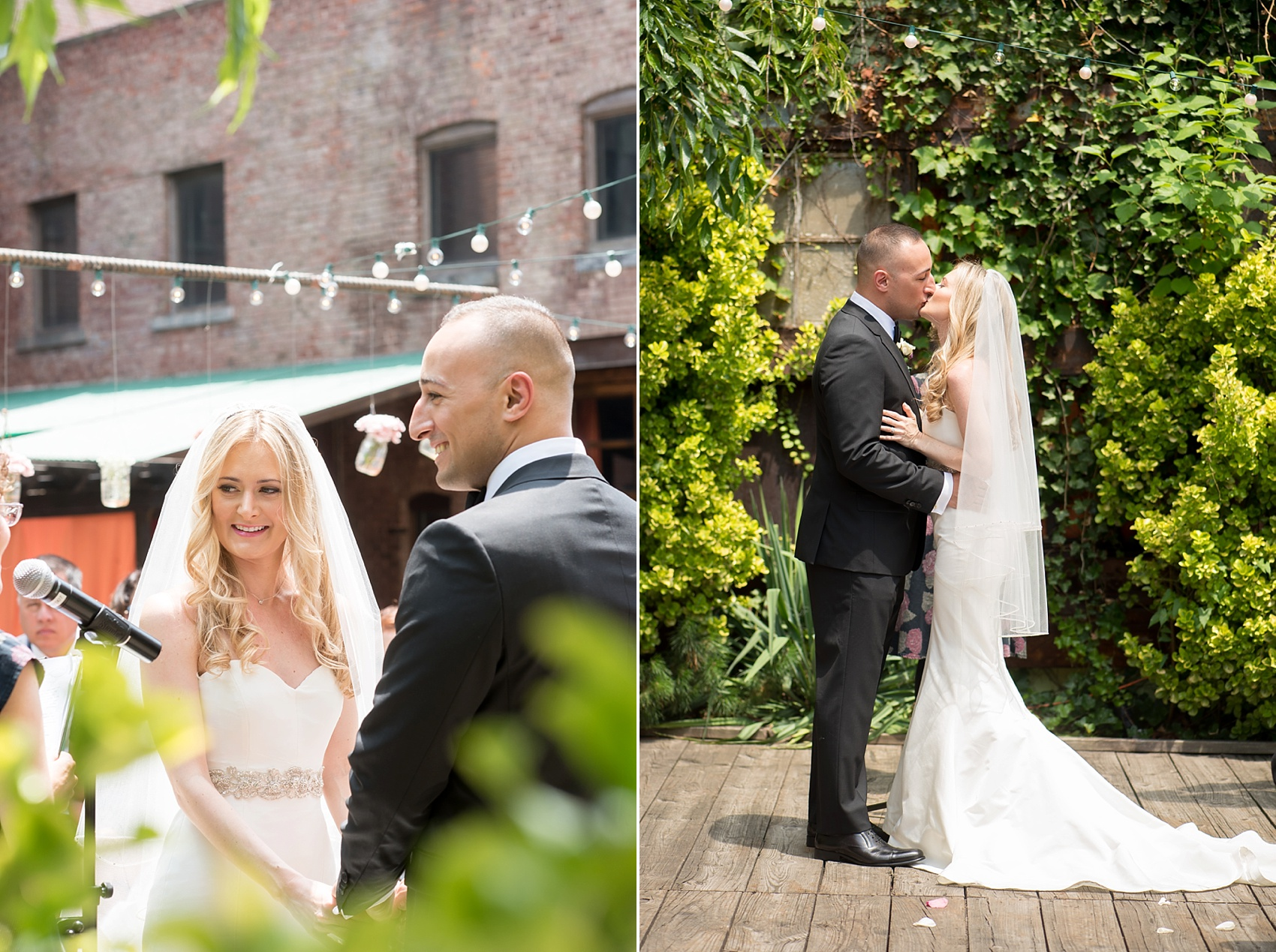 My Moon Brooklyn, Williamsburg NYC, intimate wedding. Photos by Mikkel Paige Photography.
