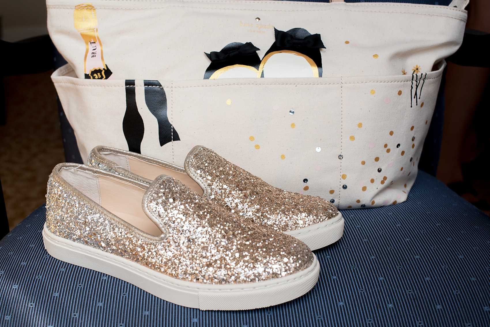 501 Union lesbian wedding reception gold glitter shoes. Photos by Mikkel Paige Photography, in Brooklyn, NYC. Planning by Ashley M Chamblin Events.