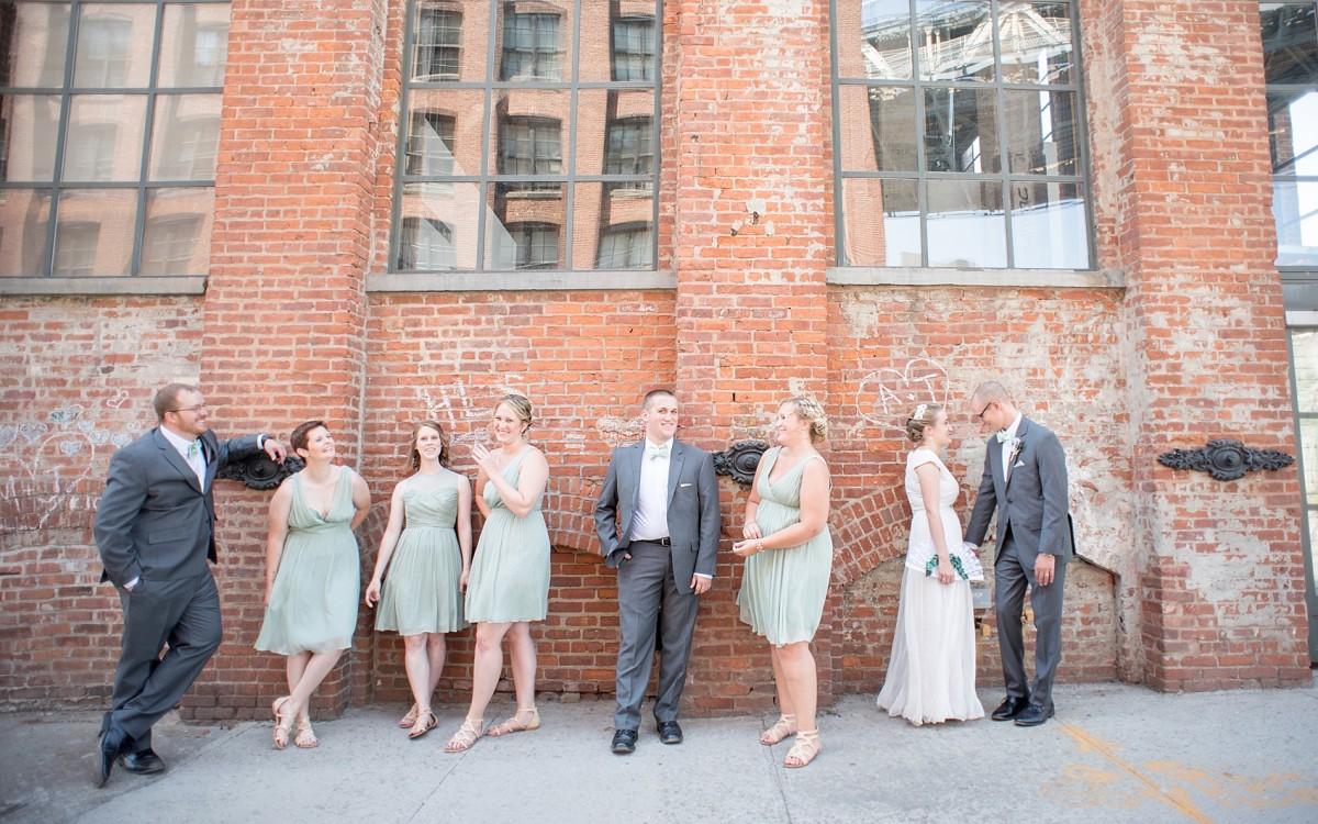 Brooklyn Bridge Park Wedding Photos • Sneak Peek: Ashley + Tim