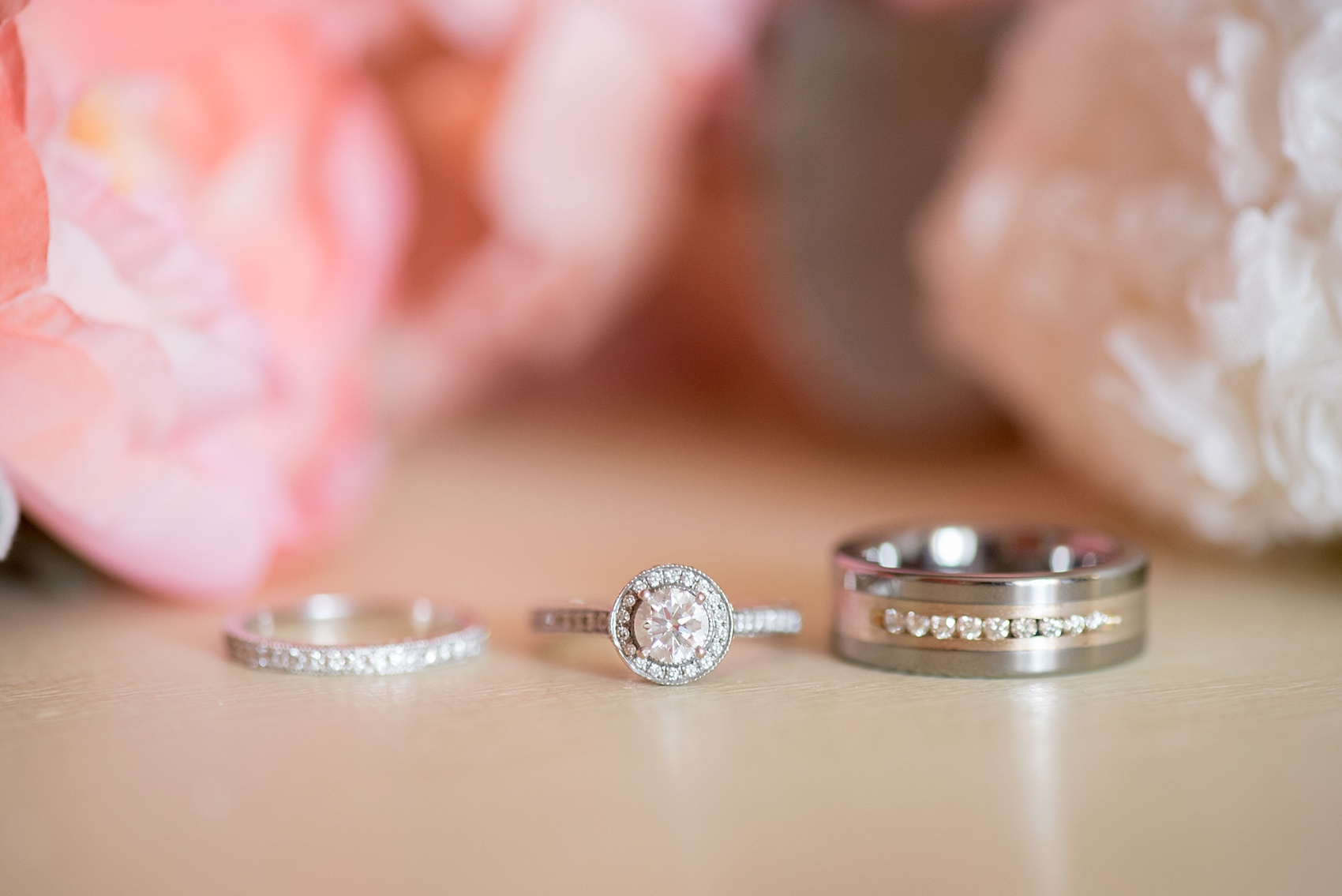 Iberostar Jamaica wedding photos, wedding rings. Images by Mikkel Paige Photography.