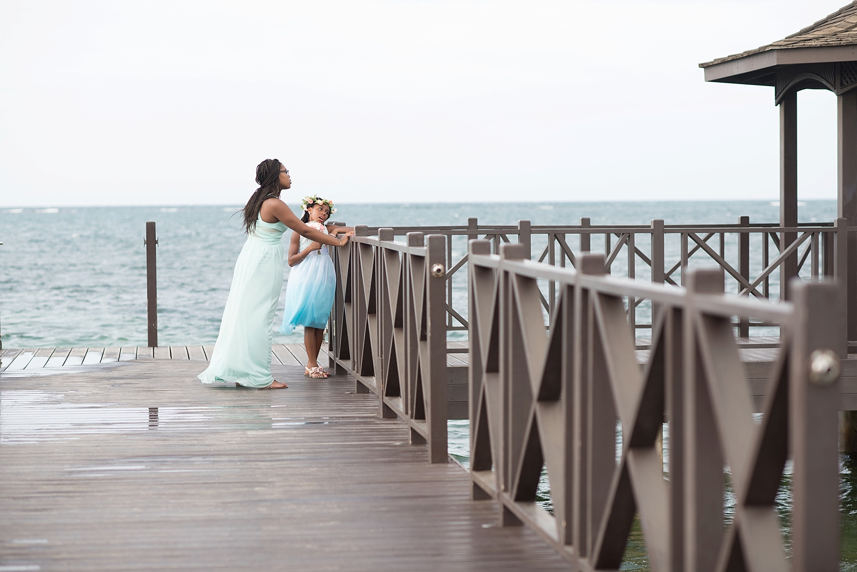 Iberostar Jamaica wedding photos, bridesmaids. Images by Mikkel Paige Photography.