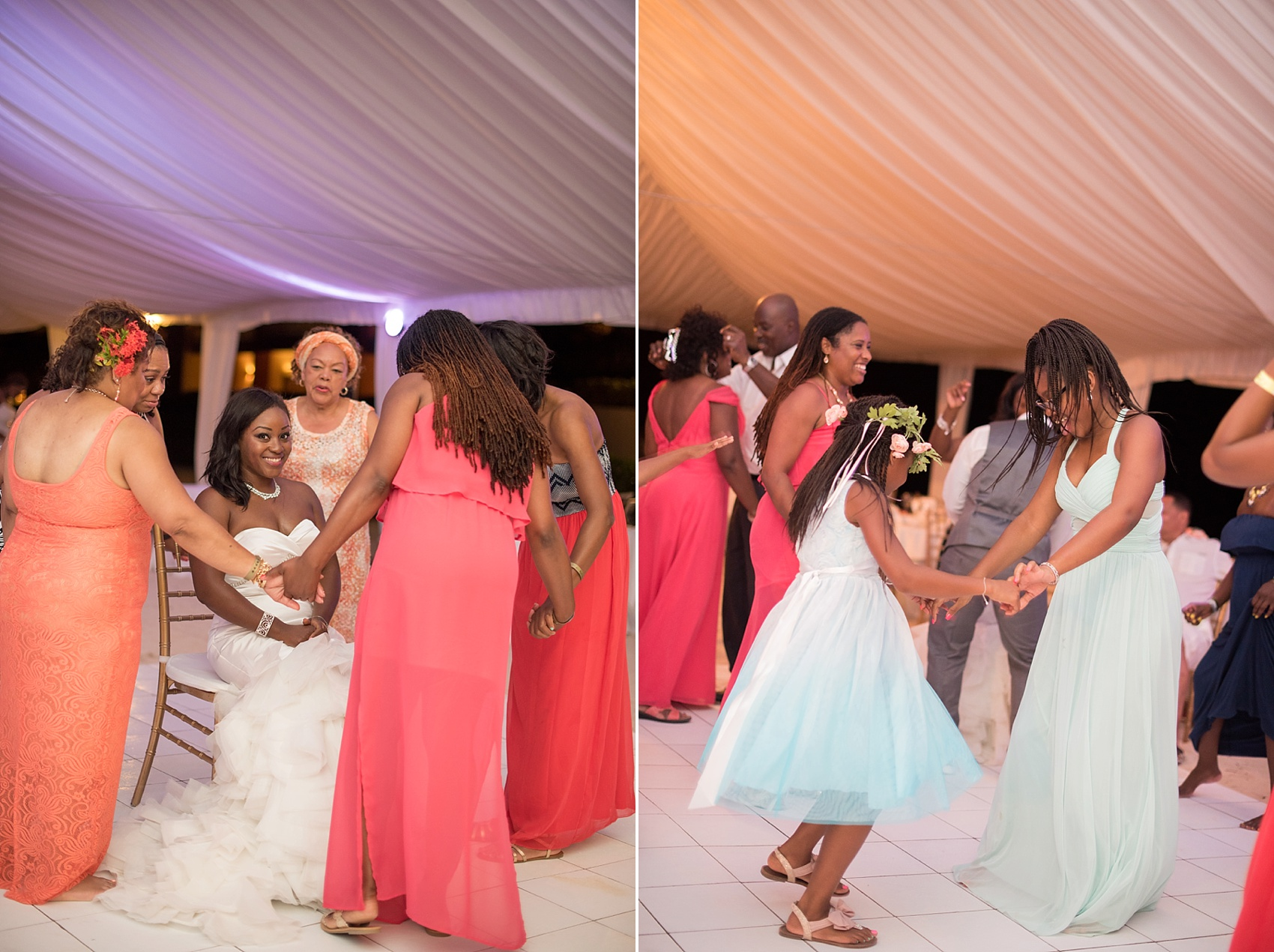 Iberostar Jamaica wedding photos. Images by Mikkel Paige Photography.