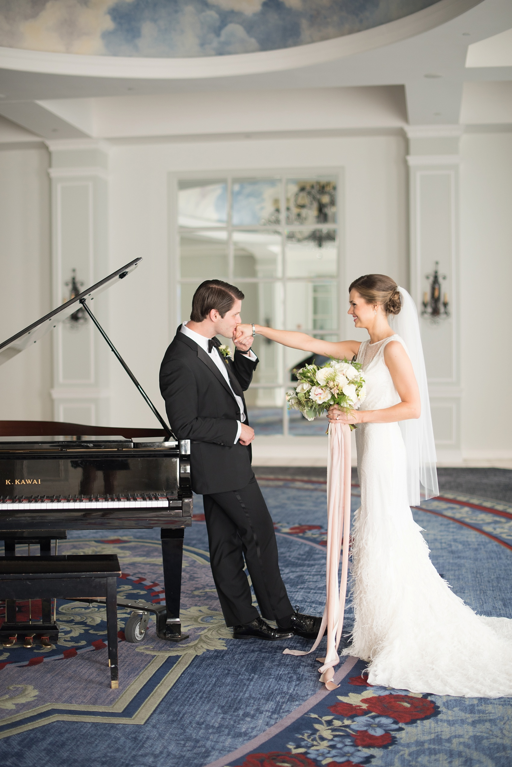 Pearl River Hilton Wedding Photos By Mikkel Paige Photography