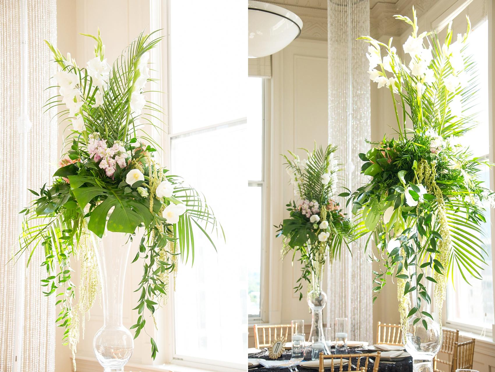Raleigh Grand Ballroom Wedding Photos • Eclectic Sage Floral Design ...