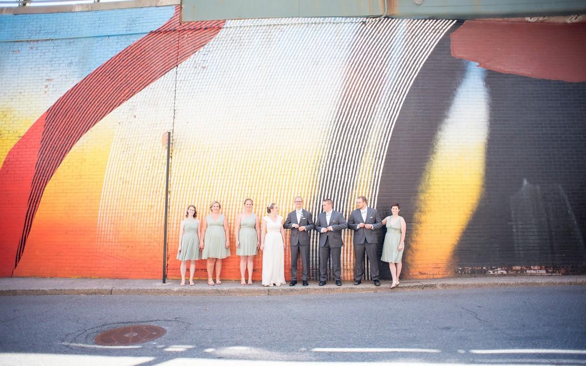 Brooklyn Bridge Park Wedding Photos • Ashley + Tim